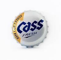 Capsules Ou Plaques De Muselet   BIÈRE  CASS BIÈRE CORÉENNE - Beer