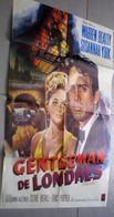 Ancienne Affiche De Cinéma Warner Bros Le Gentleman De Londres Warren Beatty Susannah York 80cm X 60cm - Posters