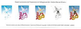France YT 4425 Asterix Épreuve Couleurs ND - Proofs