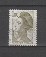 FRANCE / 1982 / Y&T N° 2185 : Liberté 1F - Usuel - France