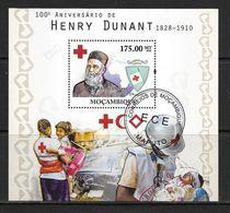 MOZAMBIQUE 2010 HENRY DUNANT YVERT N°B330  OBLITERE - Henry Dunant