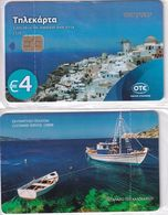 GREECE - Santorini Island, Collectors Card No 138, Tirage 2200, 08/16, Mint - Griechenland
