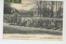 GUERRE 1914-18 - Cimetière Militaire De SENS - Cementerios De Los Caídos De Guerra