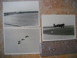 3 Photos Avions A Identifier . Periode De Guerre ? . - Aviation