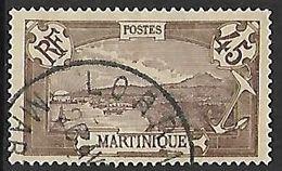 "MARTINIQUE N°72 Oblitération De ""Lorrain"" - Gebraucht"