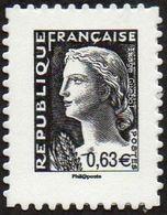 France Marianne De Decaris Autoadhésif N°  915 ** Au Modèle 1263 - La V ème République Au Fil Du Timbre - 1960 Maríanne De Decaris