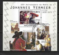 MOZAMBIQUE 2010 PEINTURES- VERMMER YVERT N°B341  OBLITERE - Künste