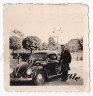 Photo Originale Autos Voitures Automobiles Cars - Volkswagen VW Coccinelle Ovale ? Split ? Käfer Brezel ? Ovali ? Beetle - Automobili