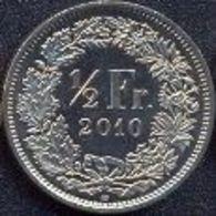 Switzerland Swiss 1/2 Franc 2010 UNC - Suiza