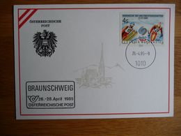 (3) Austria - Autriche OOSTENRIJK ÖSTERREICHISCHE POSTÖSTERREICHISCHE POST * BRAUNSCHWEIG  * 1985 SEE SCAN. - Entiers Postaux