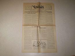 Journal Des FFI De L'Ardèche: Valmy ; Organe Des Forces Françaies De L'intérieur De L'Ardèche ; N° 2 De 1944 - Français