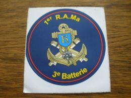 AUTOCOLLANT 1 RAMA 3E BATTERIE - Documenti