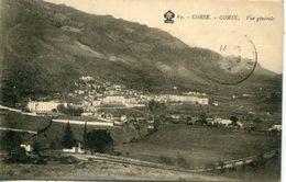 2B-CORSE  -  CORTE. -  Vue Generale - Corte
