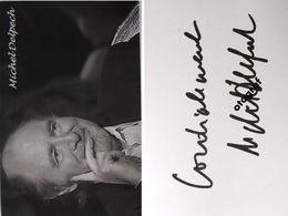 Michel DELPECH - Dédicace - Hand Signed - Autographe Authentique - Singers & Musicians
