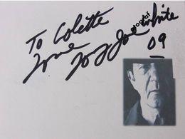 Tony Joé WHITE - Dédicace - Hand Signed - Autographe Authentique - Singers & Musicians