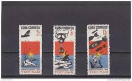 Cuba Nº 1047 Al 1049 - Cuba
