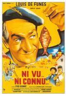 Louis De  Funès Ni Vu Ni Connu Pêche Braconnage - Actors