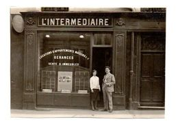 "L' INTERMEDIAIRE. AGENCE IMMOBILIERE. ""PHOTO DE LA MAISON NAJEAU AVEC LA DACTYLO"". - Trade"