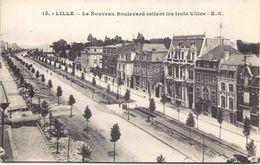 59 - LILLE - Le Nouveau Boulevard Reliant Les Trois Villes - Lille
