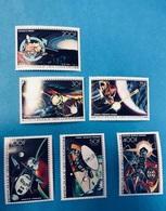 COMORES 1978 6 V Neuf ** MNH Aerien PA 134 135 YT 204 205 206 207 Vols Cosmos Soyouz COMOROS KOMOREN - Isole Comore (1975-...)