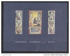 Malta 1980 Flemish Tapestry M/s ** Mnh (48434) - Malta