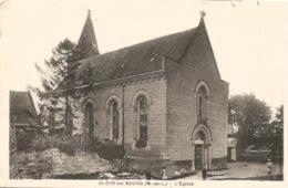 49 - SAINT - CYR - En - BOURG - L' Église - Autres Communes