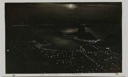 2315 -  Brésil  - RIO JANEIRO  -  NOITE  -  Rare Carte Postale Prise De Nuit En Avion - Voyagée En 1931 - Rio De Janeiro