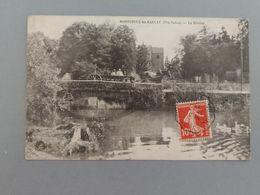 Montureux Les Baulay La Rivière Avec Charette Cachet Courrier Convoyeur Haute Saône Franche Comté - Francia