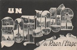 88 - RAON L' ETAPE - Un Bonjour De Raon L' Etape - Raon L'Etape