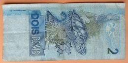 Lot : 1 Billet De 2 Reais Et 3 Pièces Banque Du Brésil - Autres
