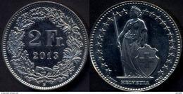 Switzerland Swiss 2 Franc 2013 UNC - Suiza