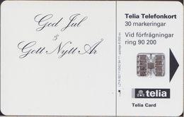 Sveden - Chip - Private - God Jul - 94-11 - 6.000 Ex. - MINT - Suède