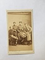 Carte De Visite CDV Militaire Lieutenant Colonel Charrette 1865 Photographie FRATELLI D'ALESSANDRI - Anciennes (Av. 1900)