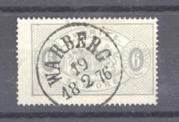 Suède  -  Services  :   Yv  4AB  (o)   Obl. Warberg , Dentelé 14 - Officials
