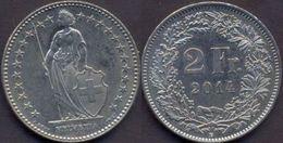 Switzerland Swiss 2 Franc 2014 UNC - Suiza