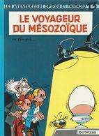 Franquin Spirou Et Fantasio N°13 Le Voyageur Du Mésozoïque Dupuis Réédition 1993 - Franquin