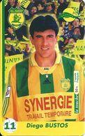 Carte Prépayée - FC. Nantes Atlantique /Diego Bustos - 3000 Ex. 31/01/2000 - France