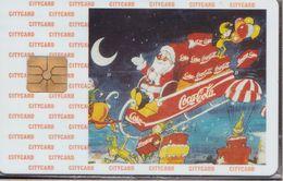 Czech Republic - Chip - Citycard - Santa Claus - 08-96 - 1.000 Ex. - Blister - RR - Tschechische Rep.