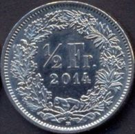 Switzerland Swiss 1/2 Franc 2014 UNC - Suiza