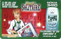 Carte Prépayée - Gameloft / Rare - France