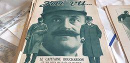 J AI VU 18/ CAPITAINE BOUCHARDON BOLO CAILLAUX  / CAMOUFLAGES ET BOMBES - 1900 - 1949
