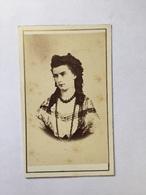 Carte De Visite CDV Reine De NAPLES Rare 1865 - Anciennes (Av. 1900)