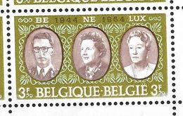 1306 En Bloc De 6 Coin De Feuille -V1 Perle Supplémentaire P5 T25 - V2 Le 9 De 1964 Déformé P4 T23  (Alb. Noir N° 49) - Varietà E Curiosità