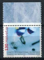"""TIMBRE**de Service De 2006 De Suisse """"Comité International Olympique - J.O. D'Hiver De 2006 à Turin"""" - Service"""