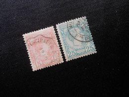 Monaco  Mi 5/6  15C/25C  Fürst Charles Lll  1885  Mi 97 € - Lot 236 - Monaco
