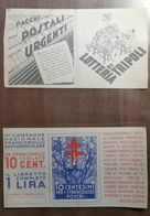 ERINNOFILIA 1936 CAMPAGNA ANTITUBERCOLARE - Erinnophilie