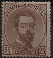 España: Año. 1872 - ( Rey Amadeo I ) - 1872-73 Königreich: Amédée I.