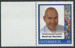 ÖSTERREICH / 8124008 / Briefmarkenhandel Manfred Wendler / Postfrisch / ** / MNH - Sellos Privados