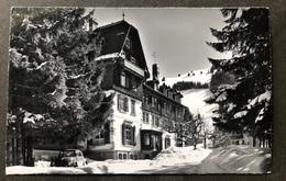 Schwenden Diemtigtal/Kurhaus Grimmialp/ Oldtimer Auto - BE Berne