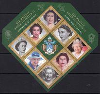Tristan Da Cunha 2012 Diamond Jubilee MS I, MNH, SG 1051 - Tristan Da Cunha
